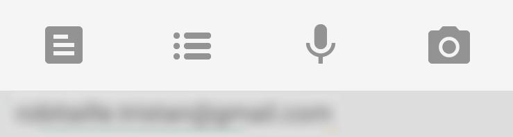 The pretty useless 3x1 Google Keep widget.