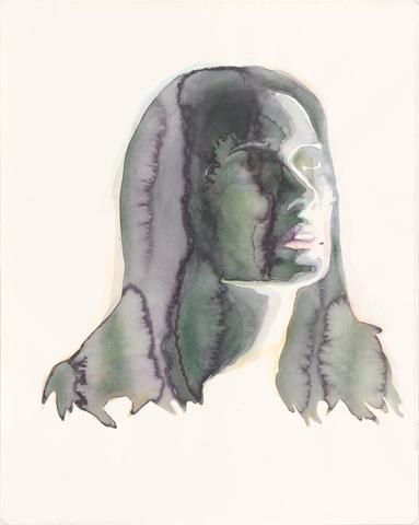 Solaris - Natascha McElhone |Aquarell auf Büttenpapier | 50 x 40 cm