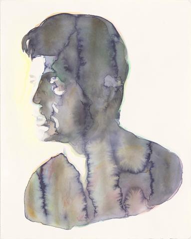 Solaris - George Clooney  |Aquarell auf Büttenpapier | 50 x 40 cm