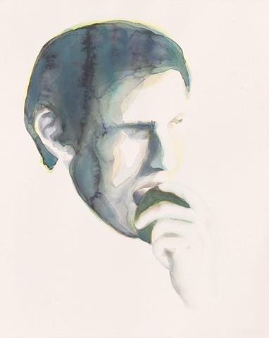 Adam  |Aquarell auf Büttenpapier | 50 x 40 cm