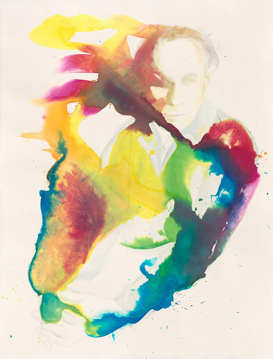 Erich Heckel  | Aquarell auf Büttenpapier | 90 x 70 cm