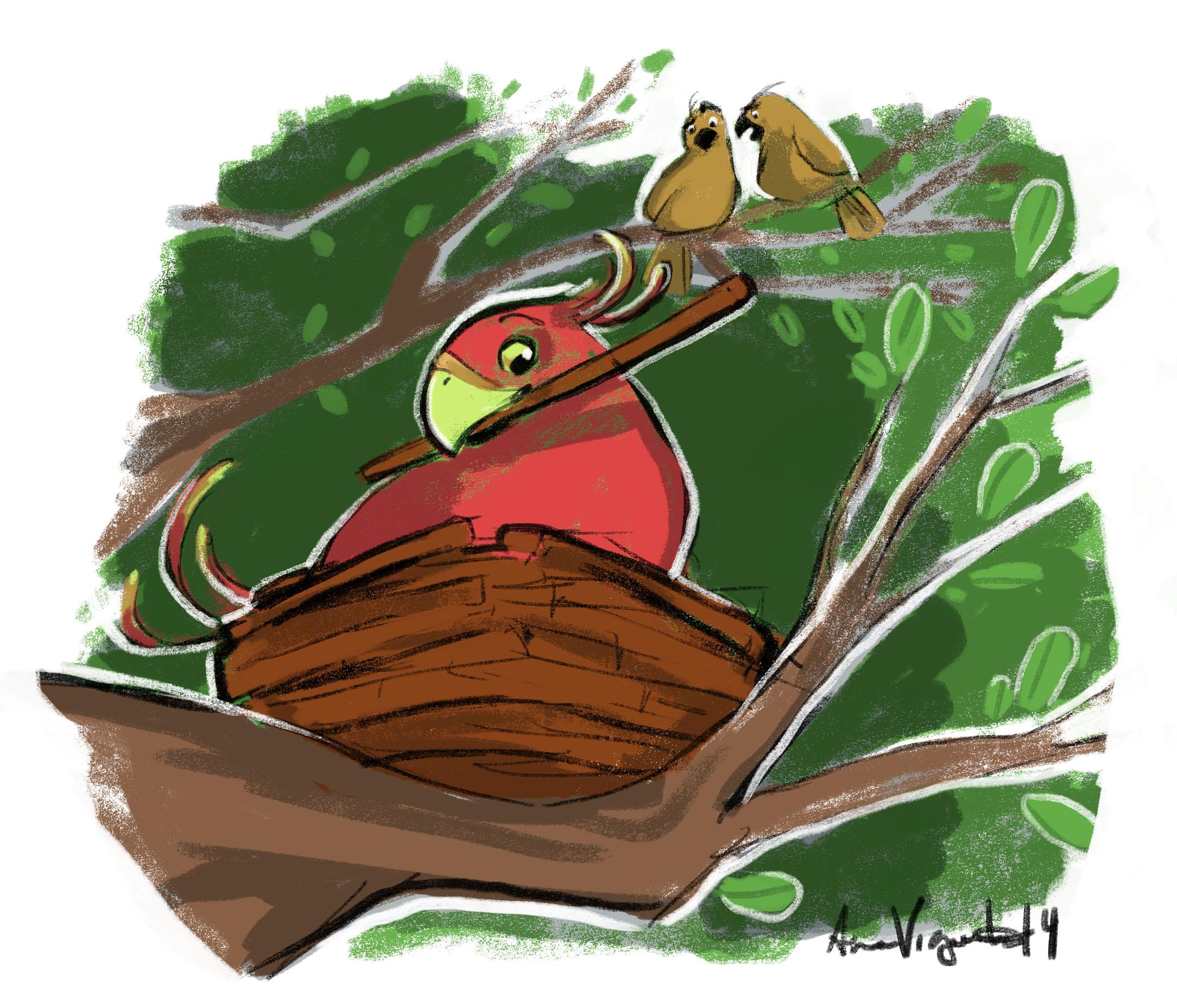 Autism - Cinnamon Bird