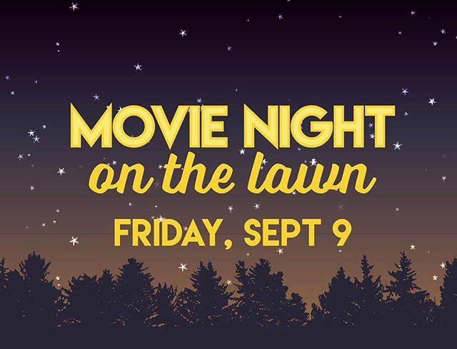 """Movie Night tomorrow with snacks & popcorn starting at 8 PM. Bring your lawn chair and enjoy """"God's Not Dead 2"""" under the stars!"""