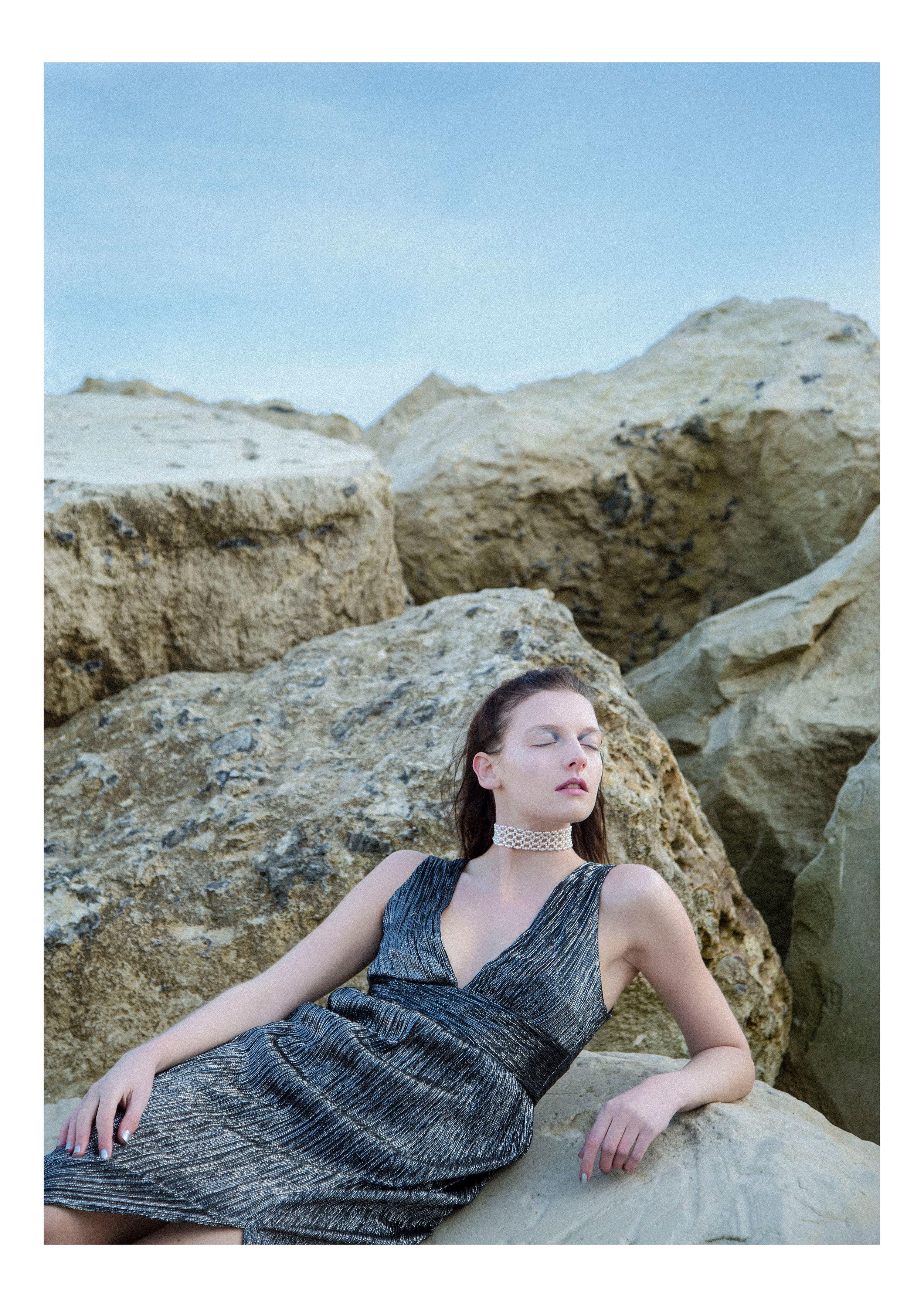 Modern Mermaid Series  Model: Chloe Hutchings  MUA: Alice Simpson  Hair Stylist: Abby Bryan  Stylist: Rosie Dalton  Assistants: Becky Irons & Natasha Brett