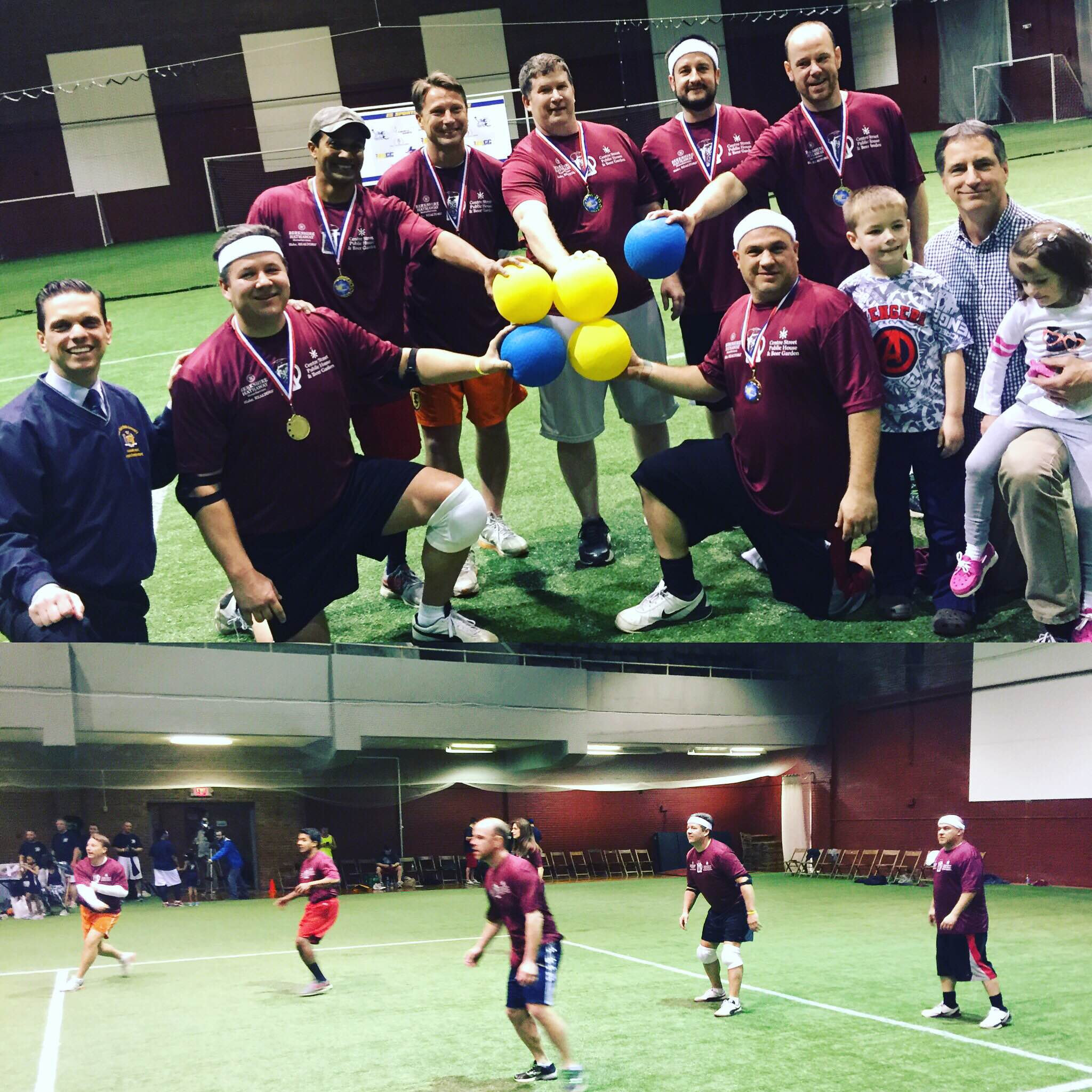 Team Blake and Centre Street Pub win 2016 dodgeball competition at Schenectady Armory on Saturday 4.16. The tournament was sponsored by the Empire State Sports Council. Learn more about  ESSC  here. Times Union article  here.