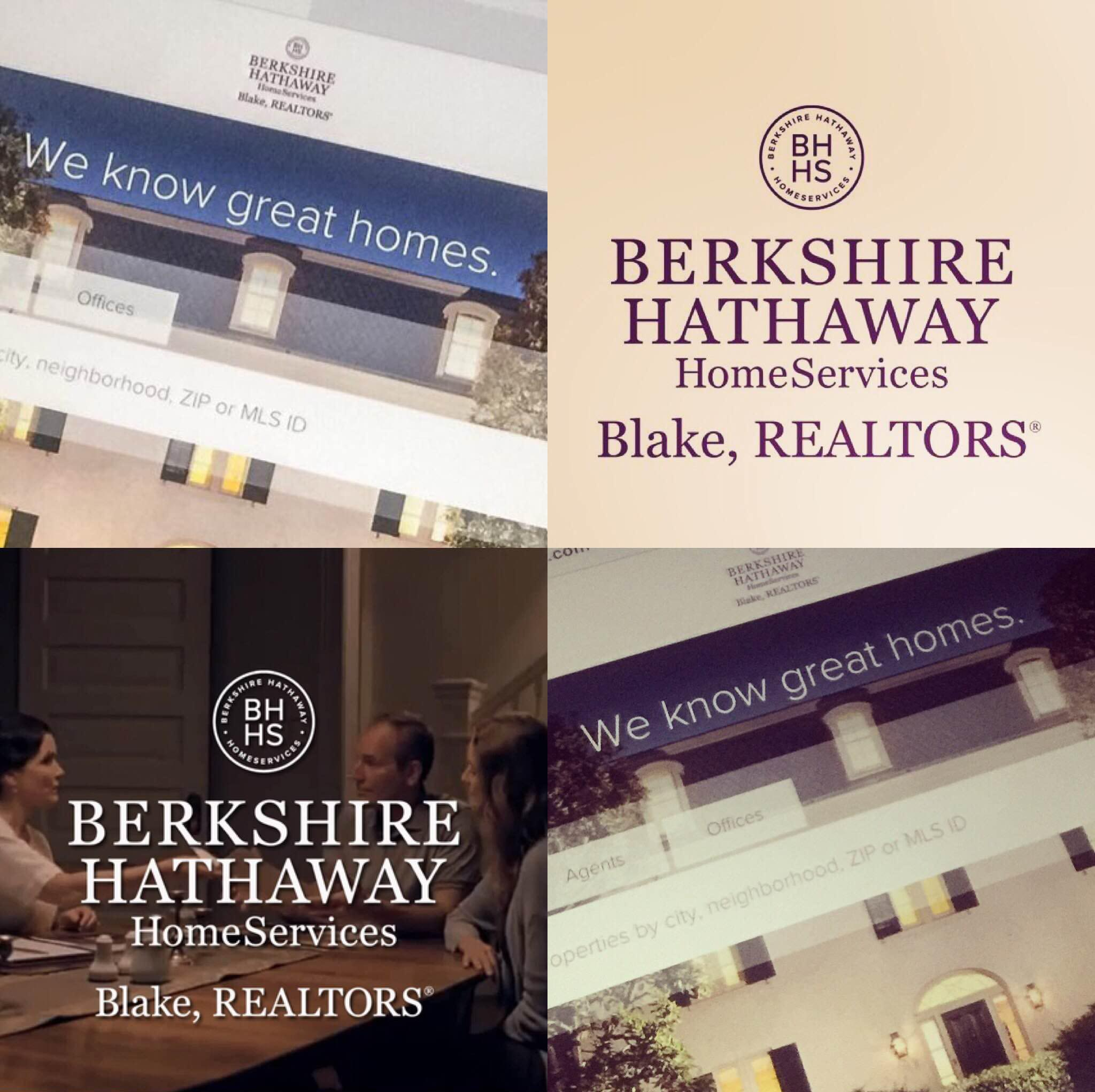 A Berkshire Hathaway HomeServices Blake Realtor® is #GoodtoKnow™