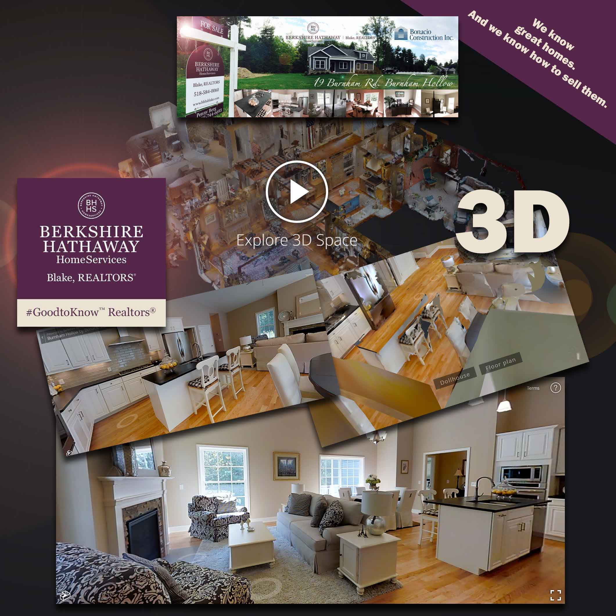 3D Tours are here. Take a tour of our model home in Burnham Hollow...