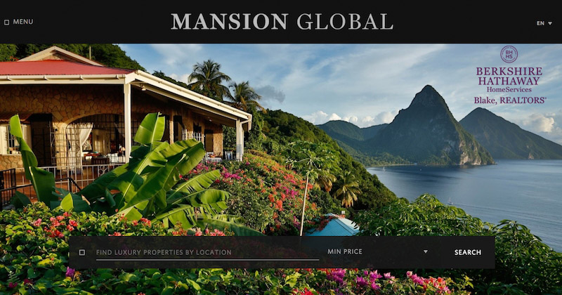 Mansion Global partners with Berkshire Hathaway HomeServices