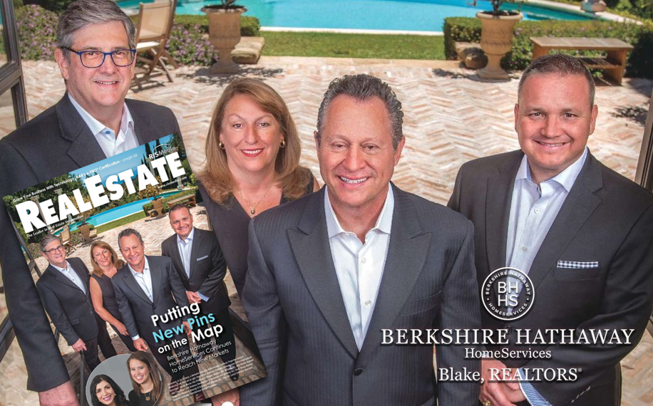 Read the August Cover Story about the growth of Berkshire Hathaway HomeServices  here .