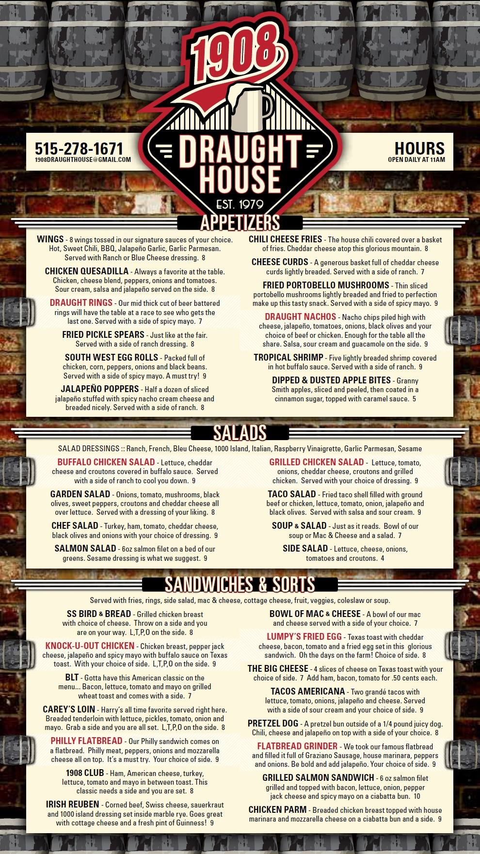 1908 Draught House Johnston Menu Page 1.jpg