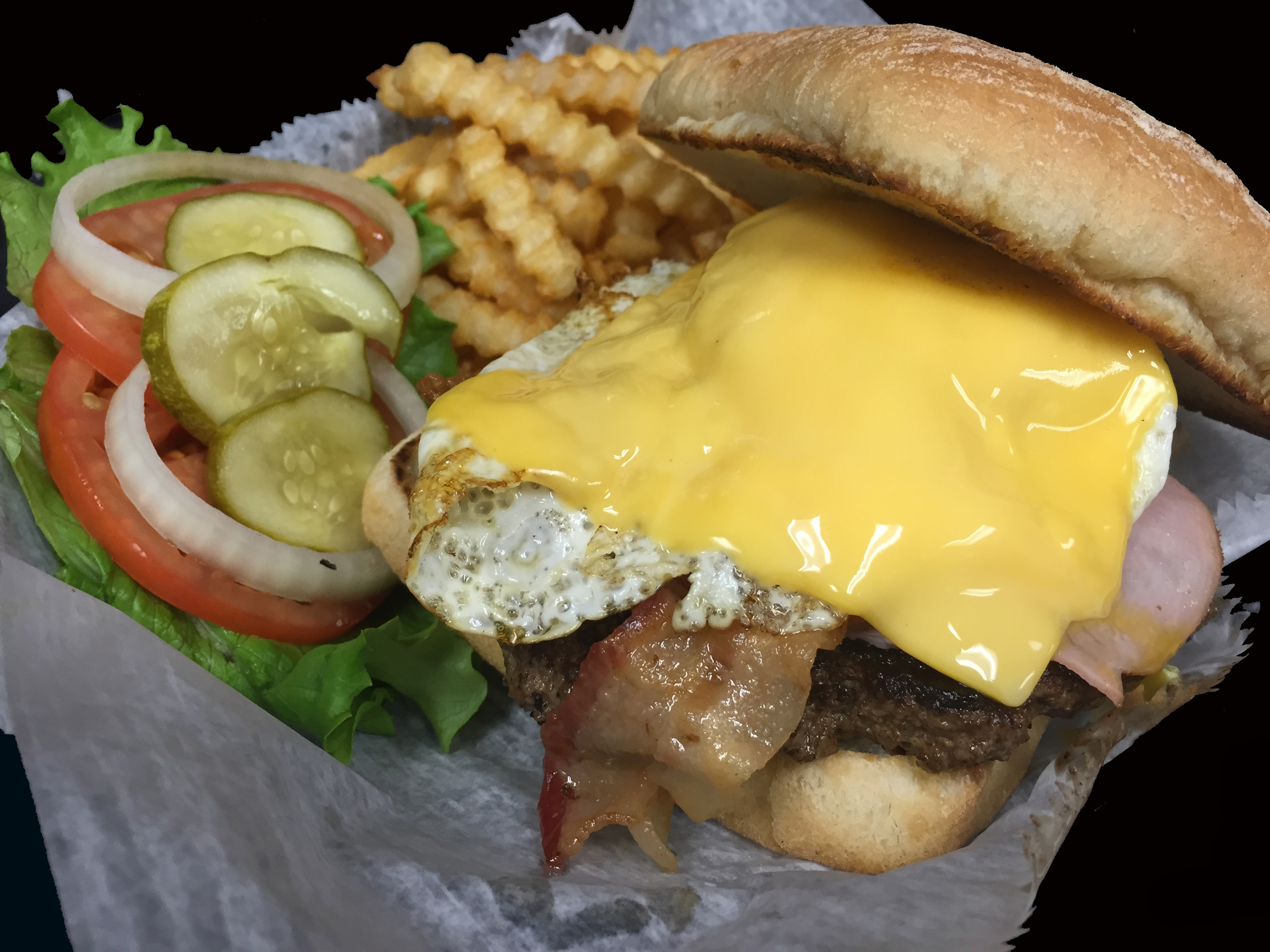 Egguse me burger.JPG