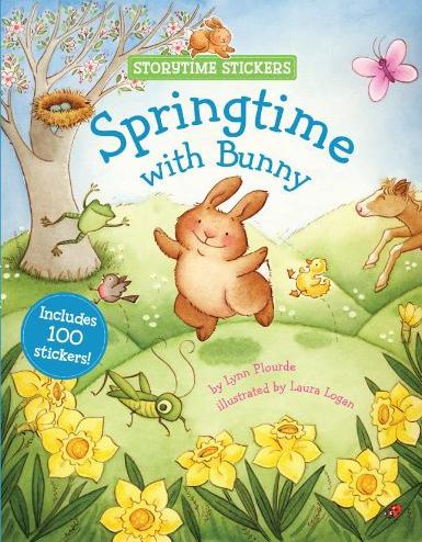 Storytime Stickers: Springtime with Bunny