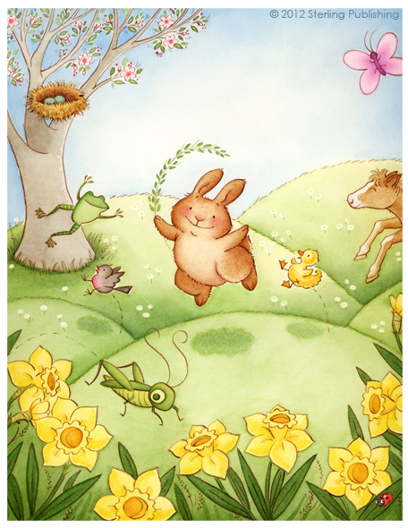 """Springtime with Bunny"" © Sterling Publishing"