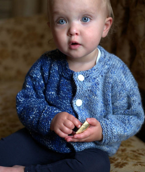 Jelli Beanz Baby Cardigan Pattern