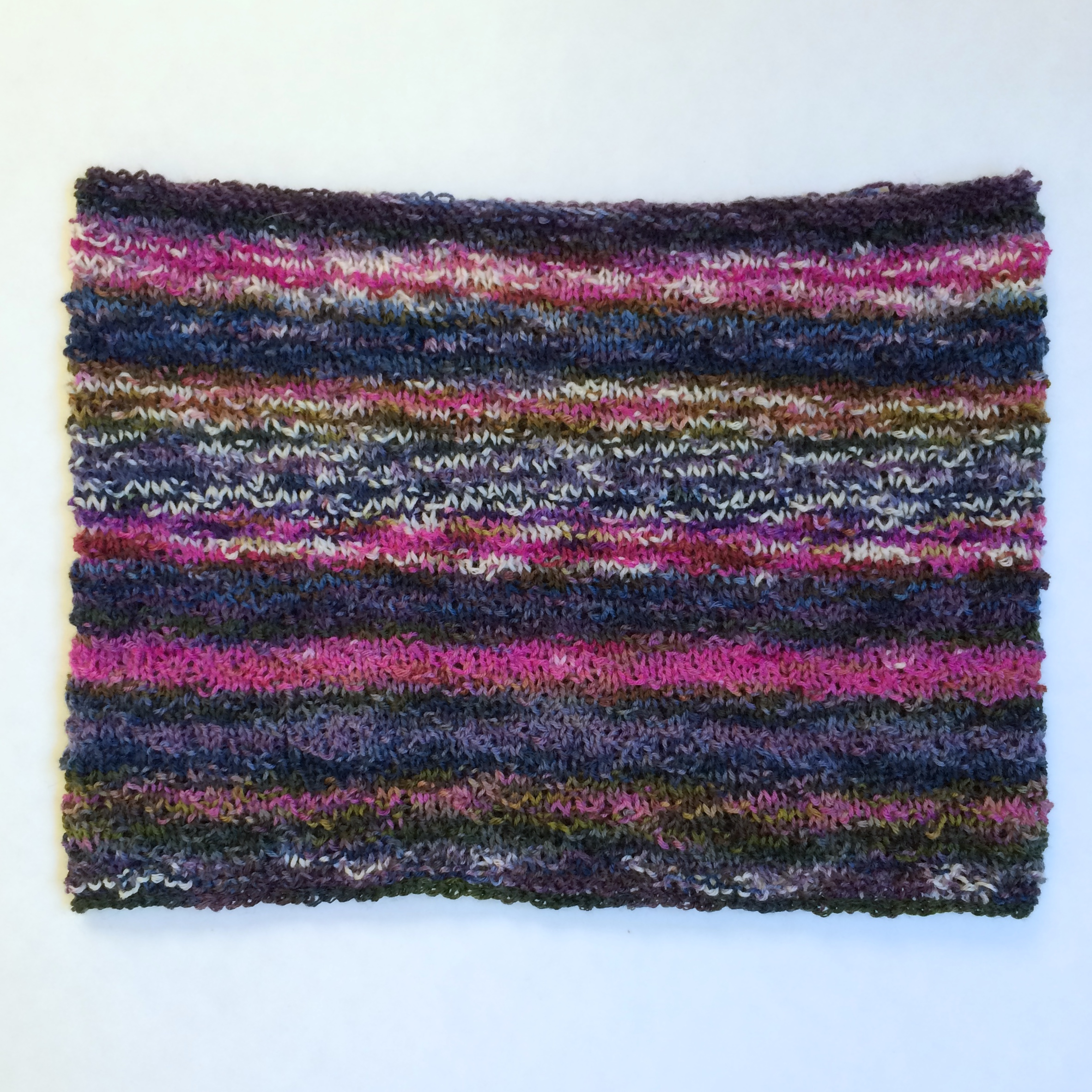 Wunder Cowl, shown flat