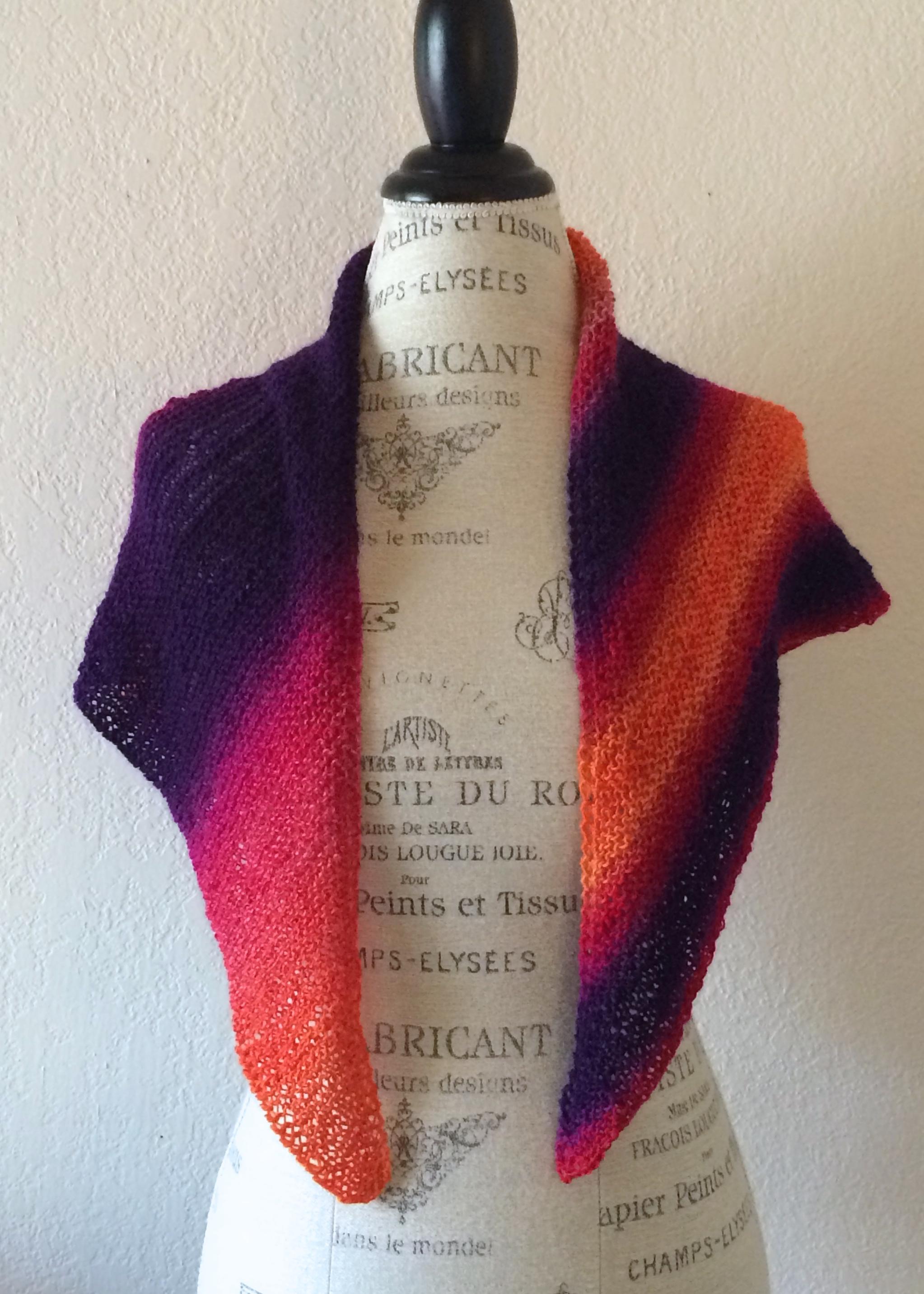 Zaubershawl Free Knitting Pattern