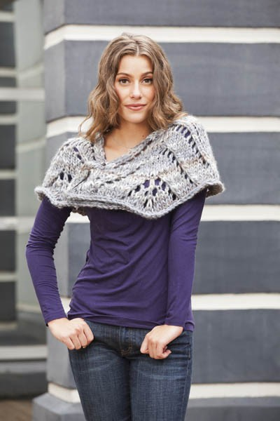 Skyscraper Shawl Free Knitting Pattern