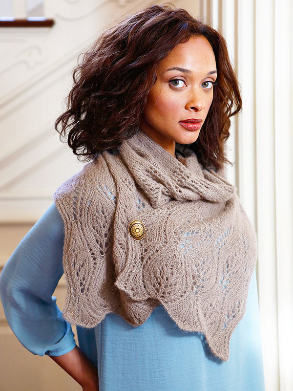 Waterhouse Scarf Free Knitting Pattern