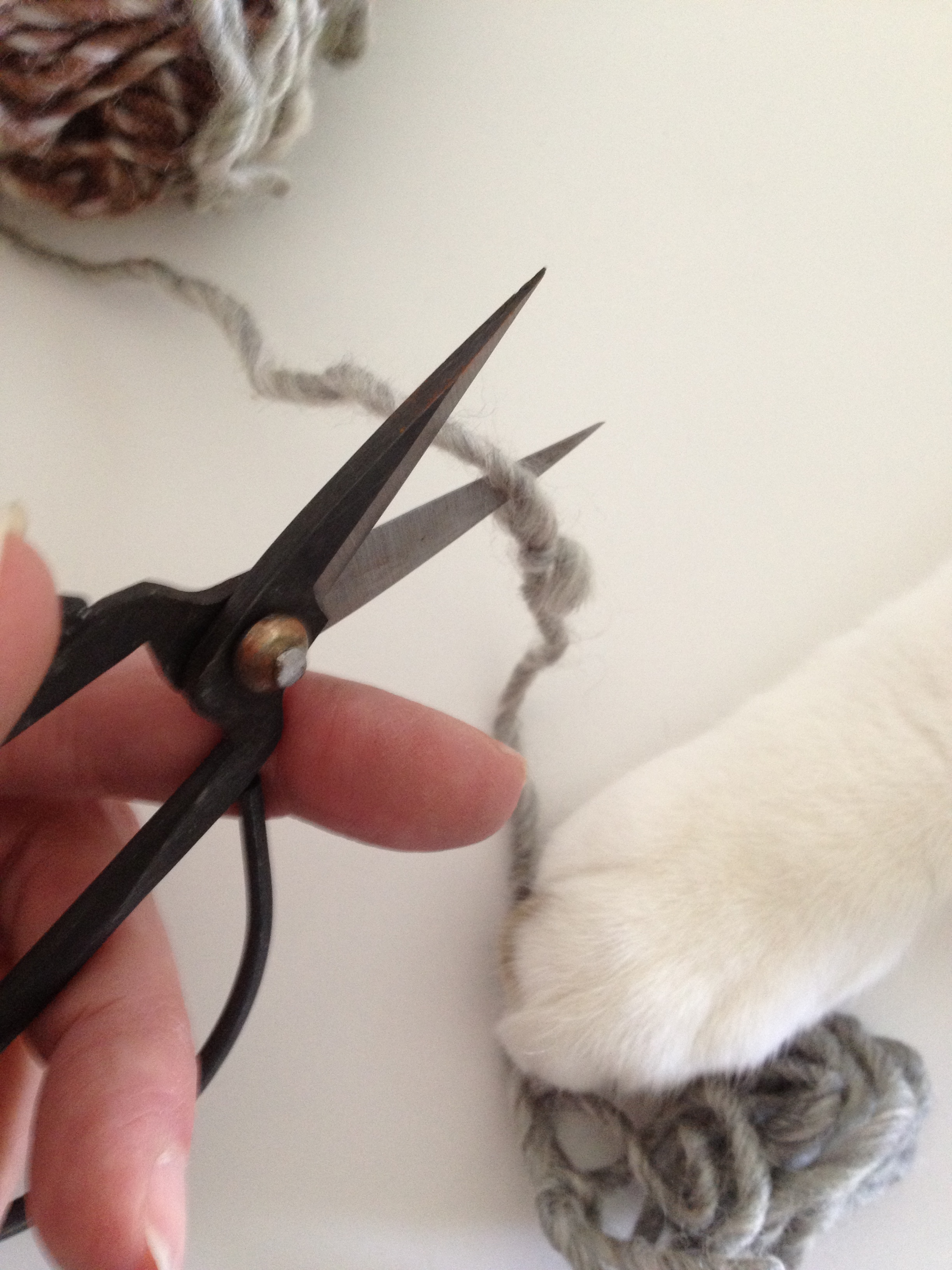 Cutting The Knot With A Little Help From My Friend .