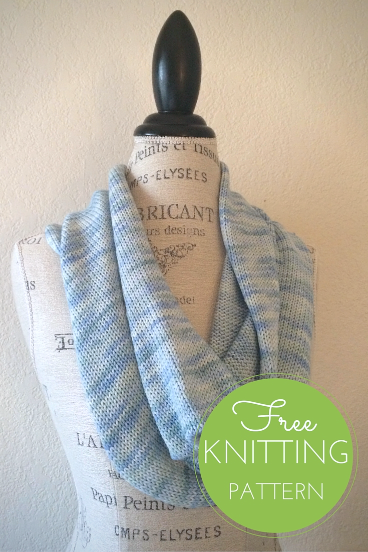 Crock Cowl Free Knitting Pattern - One Skein project!