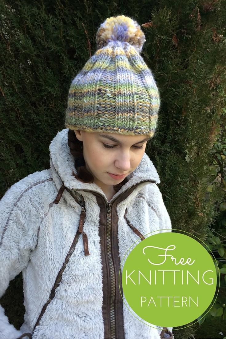 Jonas Hat Free Knitting Pattern
