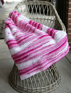 Toybox Candy Baby Blanket Free Knitting Pattern