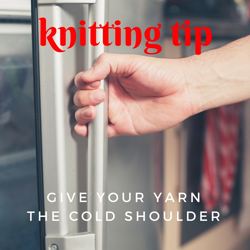 Give Your Yarn the Cold Shoulder!