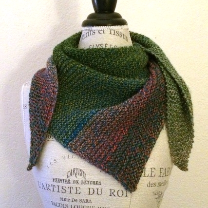 Zauberwrap Free Knitting Pattern
