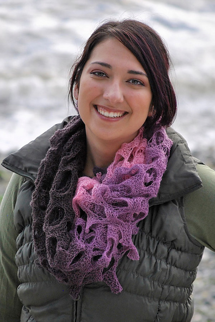 Holey Scarf Free Knitting Pattern