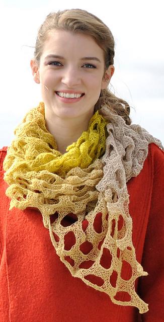 Holey Scarf Free Knitting Pattern Blog Nobleknits