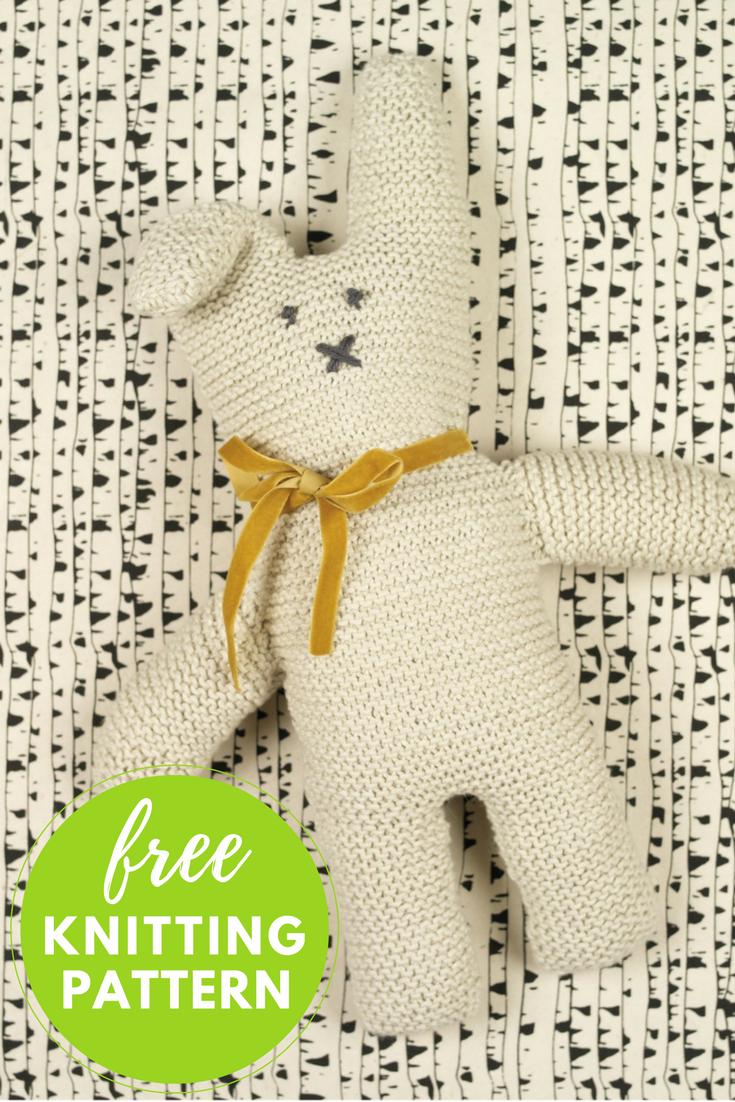 Cottontail Rabbit Free Knitting Pattern