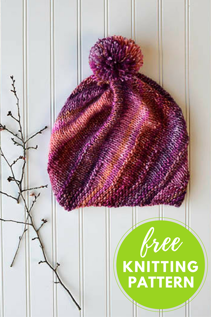 Frenzy Hat Free Knitting Pattern