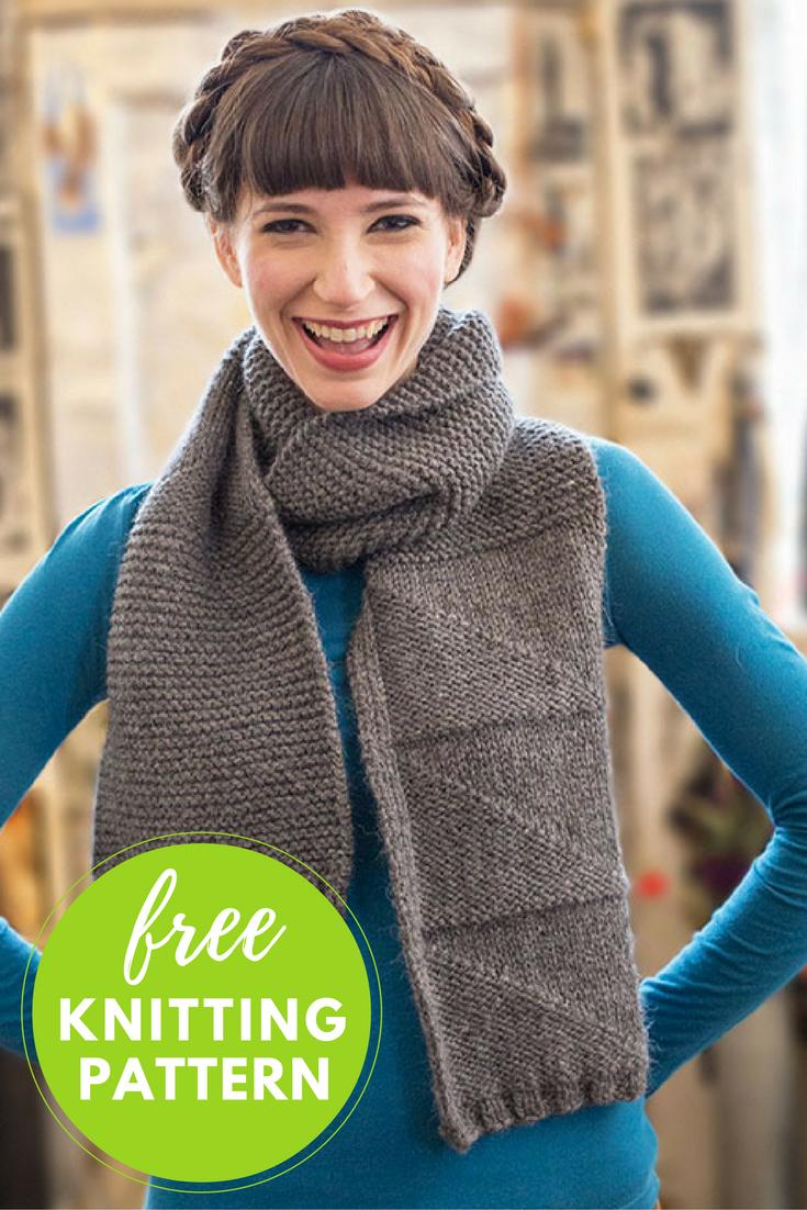 Casa Sonia Scarf Knitting Pattern - Free PDF Download!