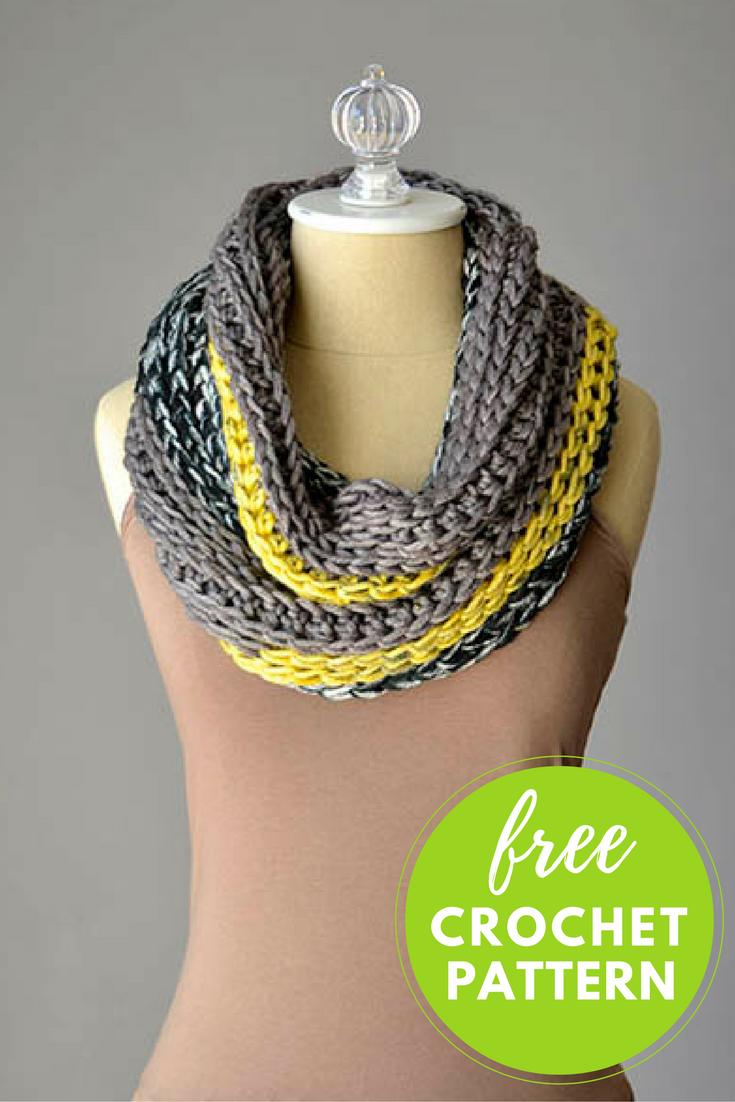 Easy Cowl Free Crochet Pattern - 1 Skein Project!