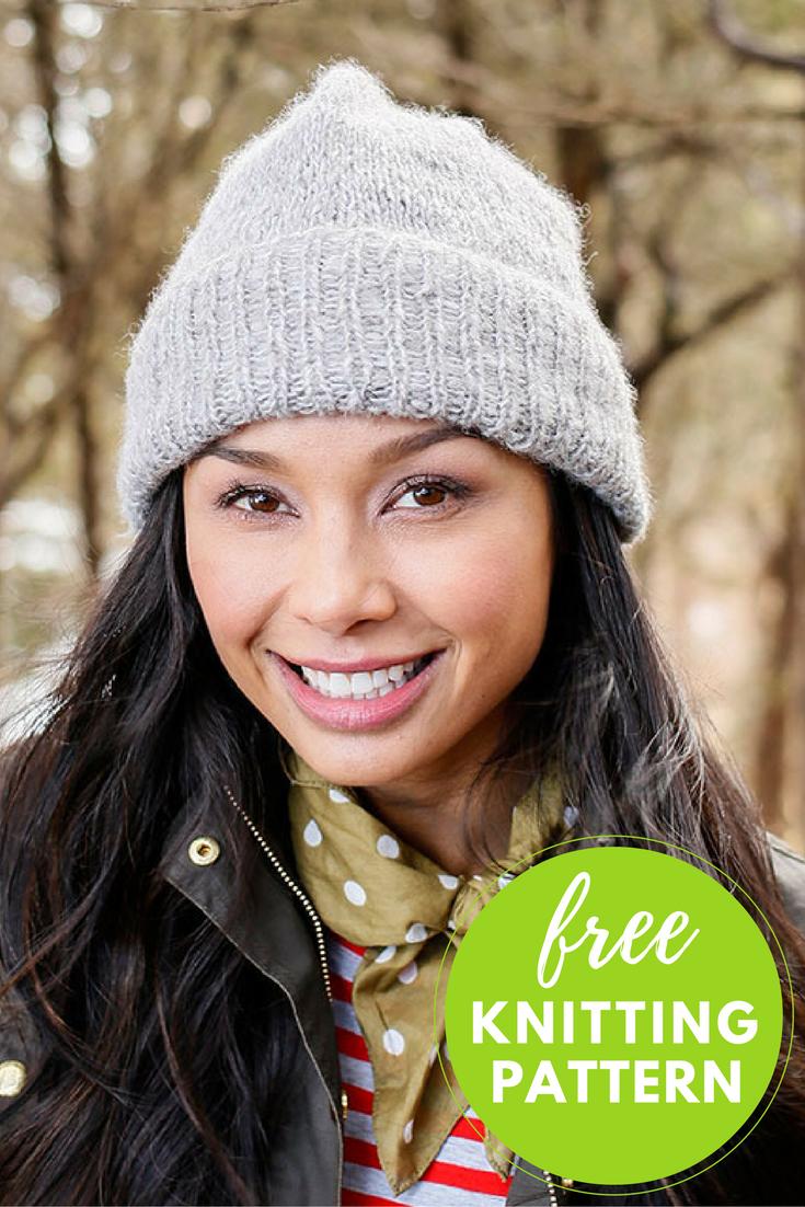 Easy! Kennebec Hat Free Knitting Pattern
