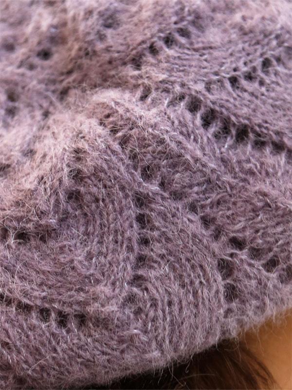 lace hat free knitting pattern