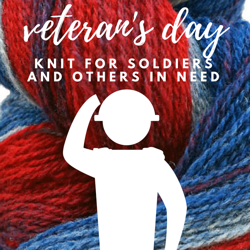 Charity Knitting Ideas for Veterans Soldiers and others in Need