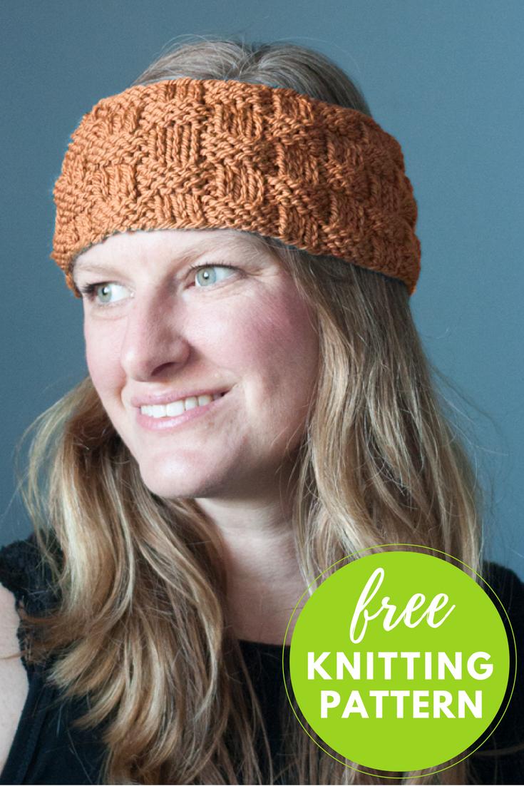 Baa Baa Headband Free Knitting Pattern