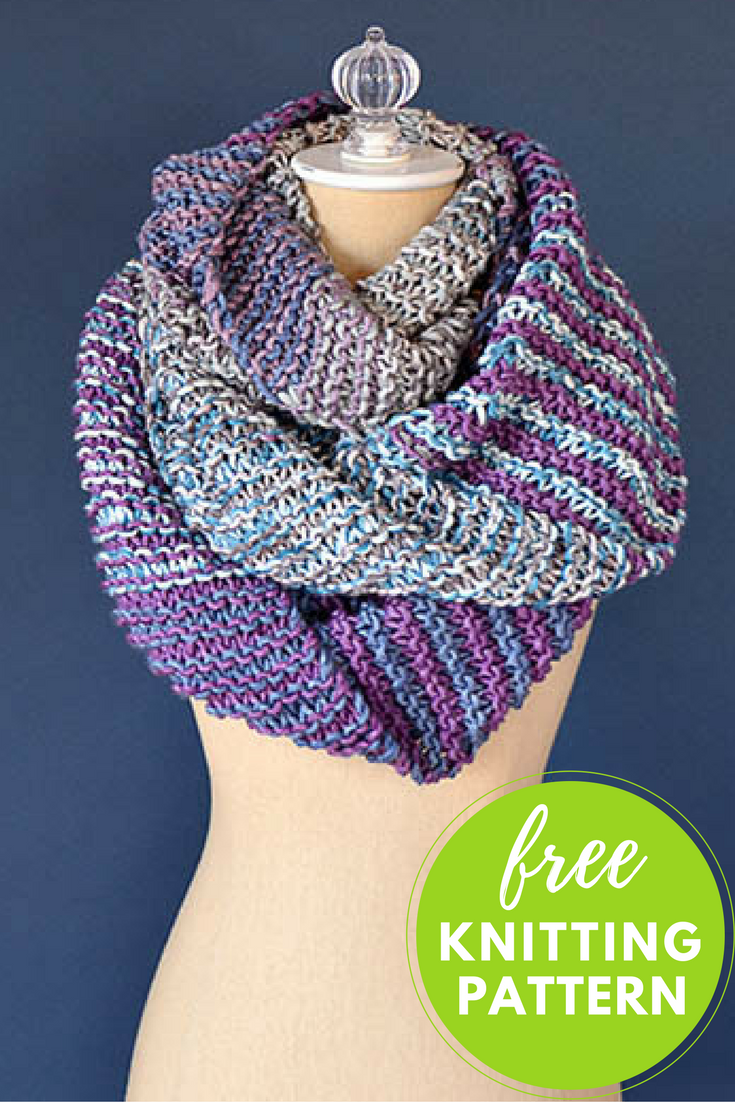 Squoosh Cowl Free Knitting Pattern
