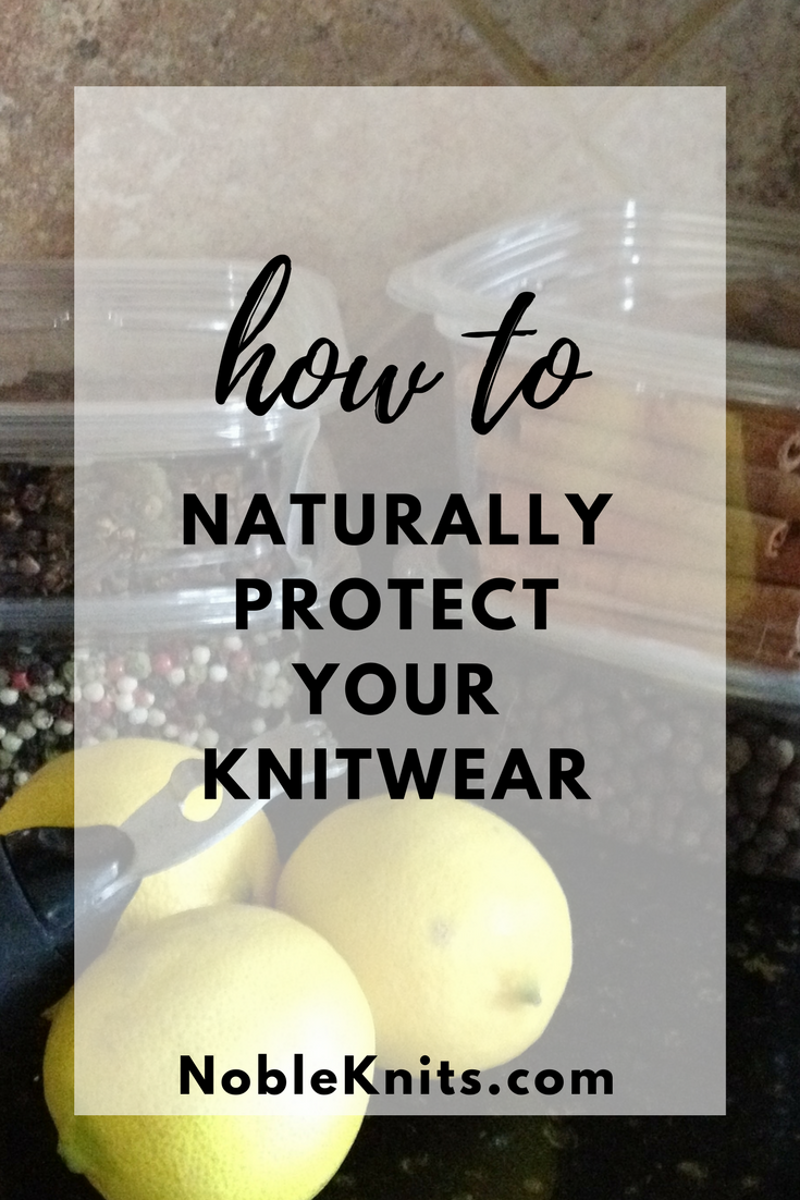 Knitting Tip: How to Naturally Protect Your Knitwear Using Items from Your Spice Drawer!