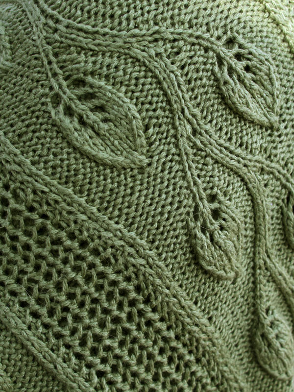 Free Knitting Pattern: Finally Spring Shawl