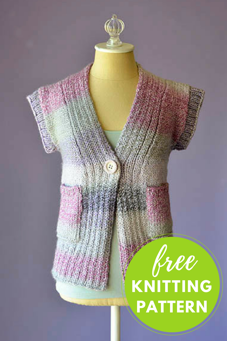 Cake Cardigan Free Knitting Pattern