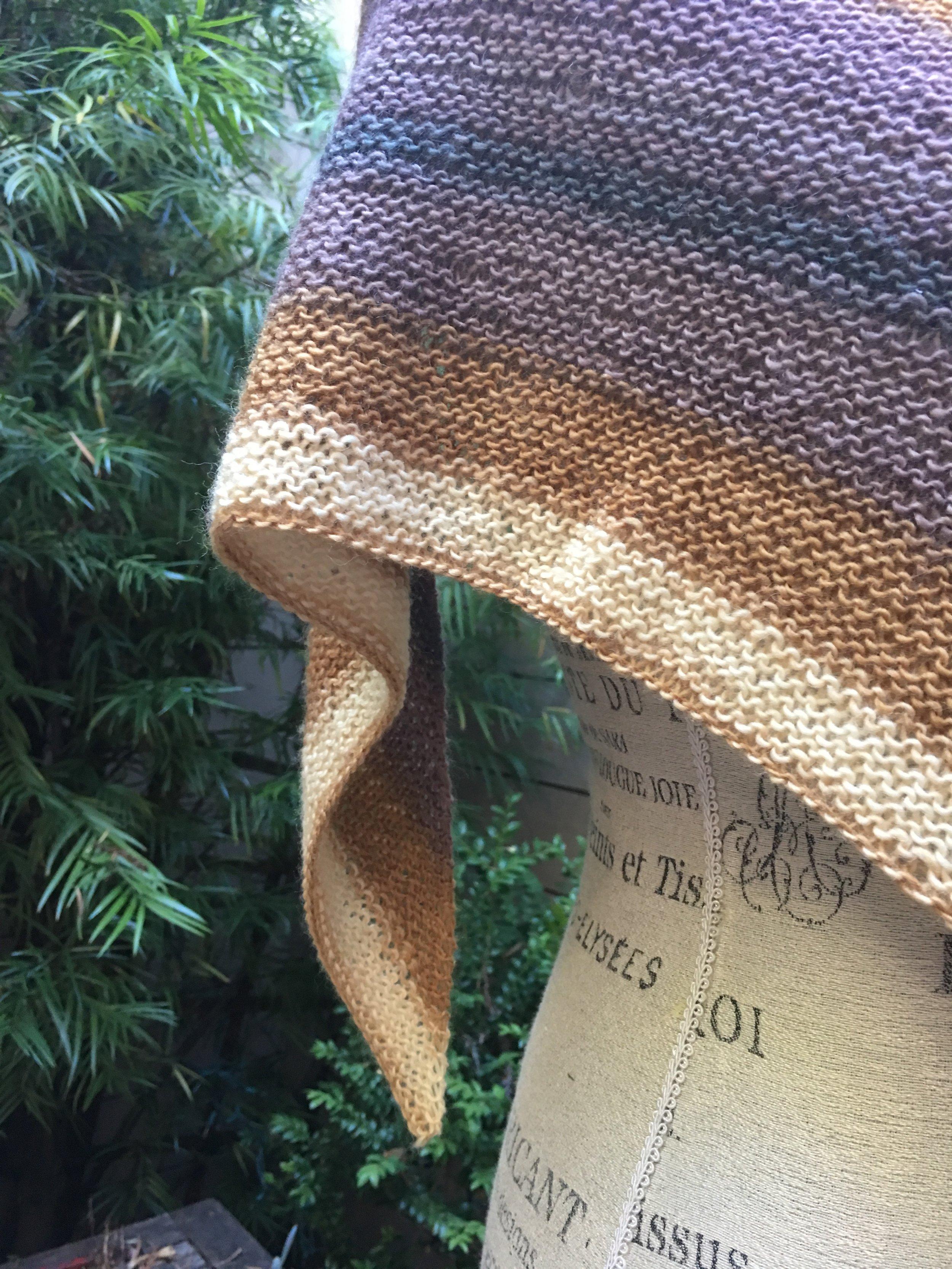 Free Shawl Knitting Pattern