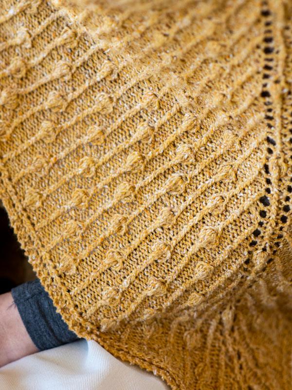 Forsythia Shawl Free Knitting Pattern