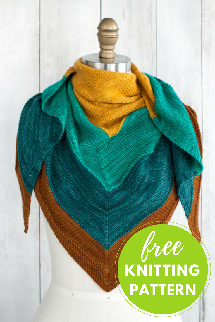 Islamorada shawl free pattern