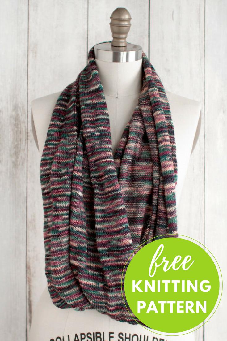 Marina Circle Scarf Free Knitting Pattern