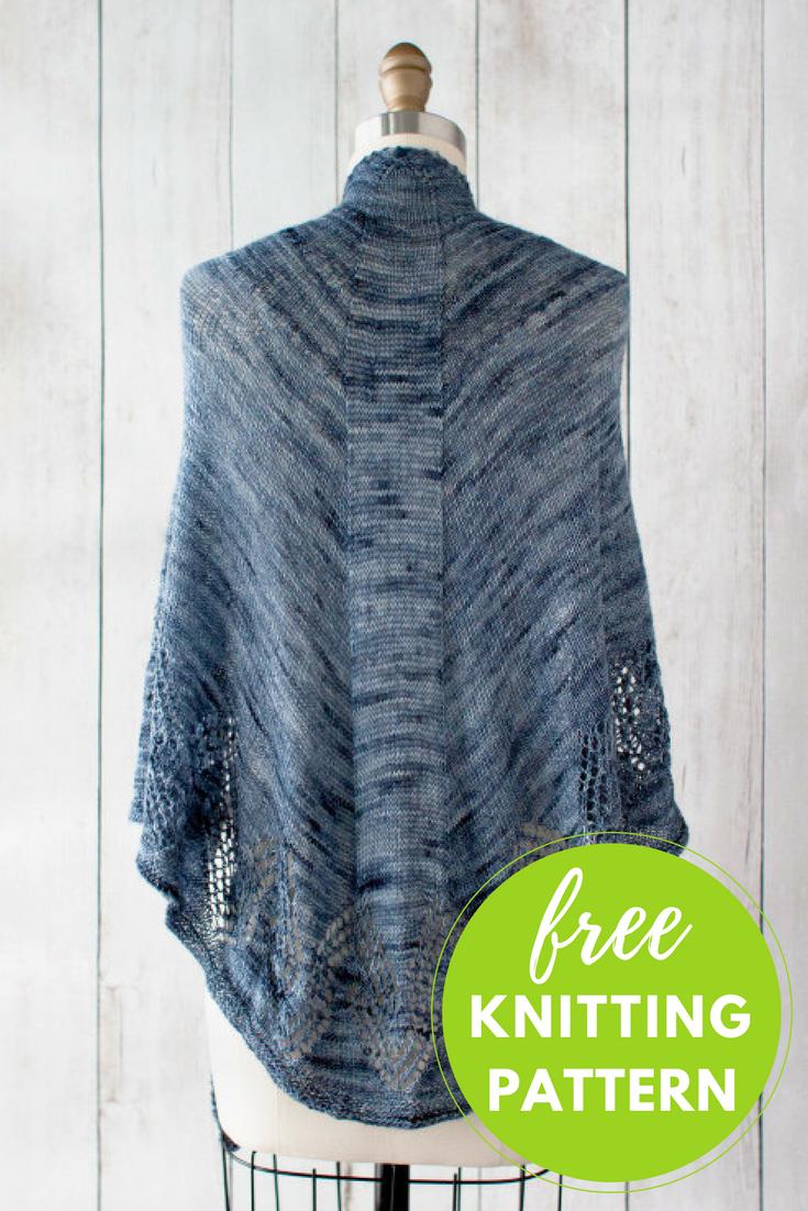 Feroe Lace Shawl Free Knitting Pattern