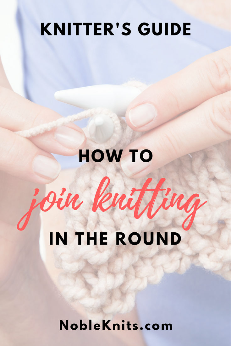 Join In the Round Knitting