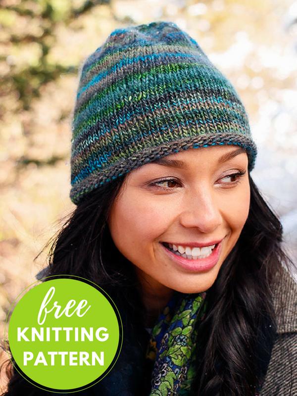 Speedwell Hat Free Knitting Pattern