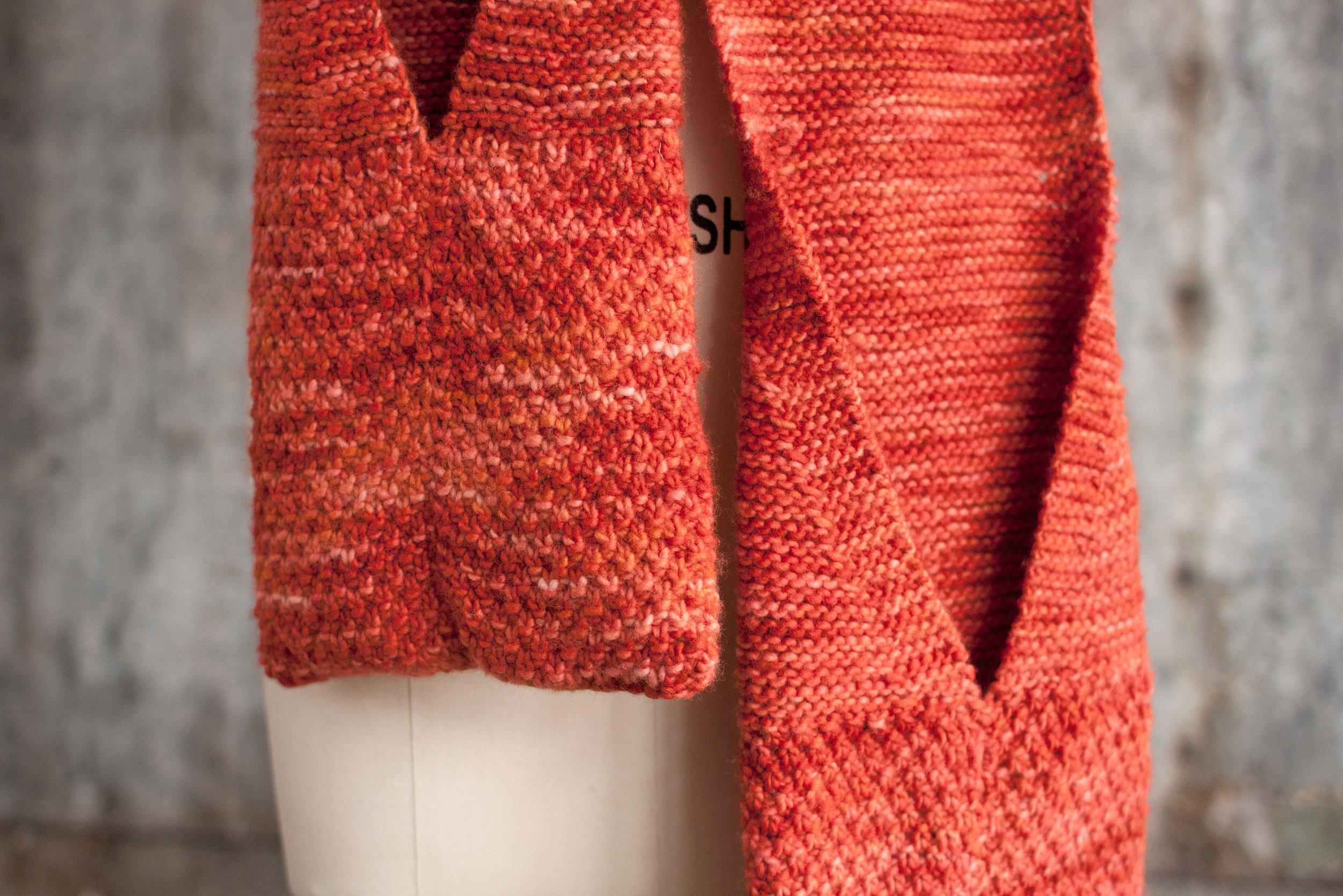 Comote Scarf Free Knitting Pattern